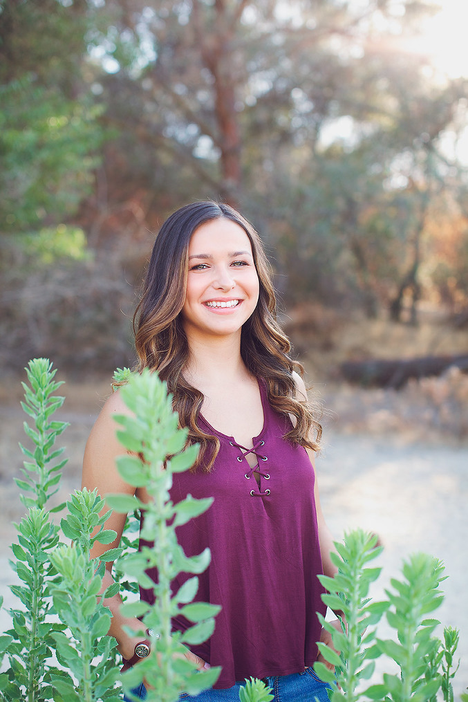 folsom lake senior session