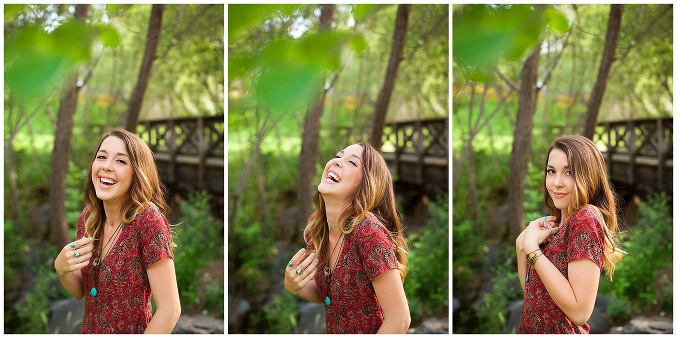 Boho Senior Portraits in California